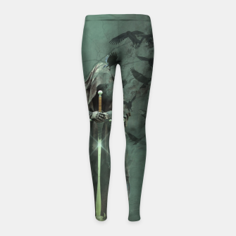 Thumbnail image of Creatures of the Relm  - Fantasy Fairy Tales Girl's leggings, Live Heroes