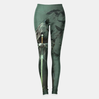 Thumbnail image of Creatures of the Relm  - Fantasy Fairy Tales Leggings, Live Heroes