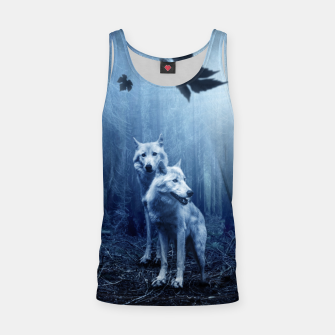 Thumbnail image of The White Wolves - Fantasy Fairy Tales Tank Top, Live Heroes