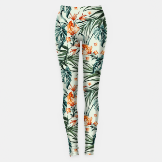 Thumbnail image of Exotic flower nature-07 Leggings, Live Heroes