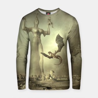The Mother of Dragons - Fantasy Fairy Tales Cotton sweater thumbnail image