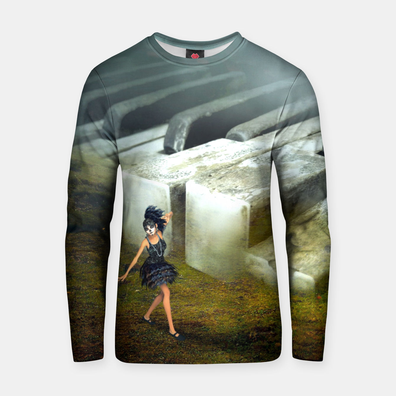 Image of The Piano - Fantasy Fairy Tales Cotton sweater - Live Heroes