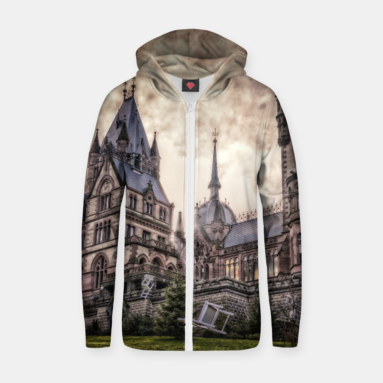 Image of Magic Musical Chairs - Fantasy Fairy Tales Cotton zip up hoodie - Live Heroes