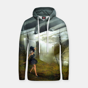 The Piano - Fantasy Fairy Tales Cotton hoodie thumbnail image