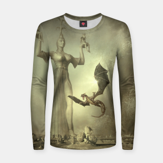 The Mother of Dragons - Fantasy Fairy Tales Woman cotton sweater thumbnail image
