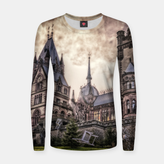 Thumbnail image of Magic Musical Chairs - Fantasy Fairy Tales Woman cotton sweater, Live Heroes