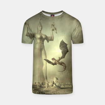 The Mother of Dragons - Fantasy Fairy Tales T-shirt thumbnail image