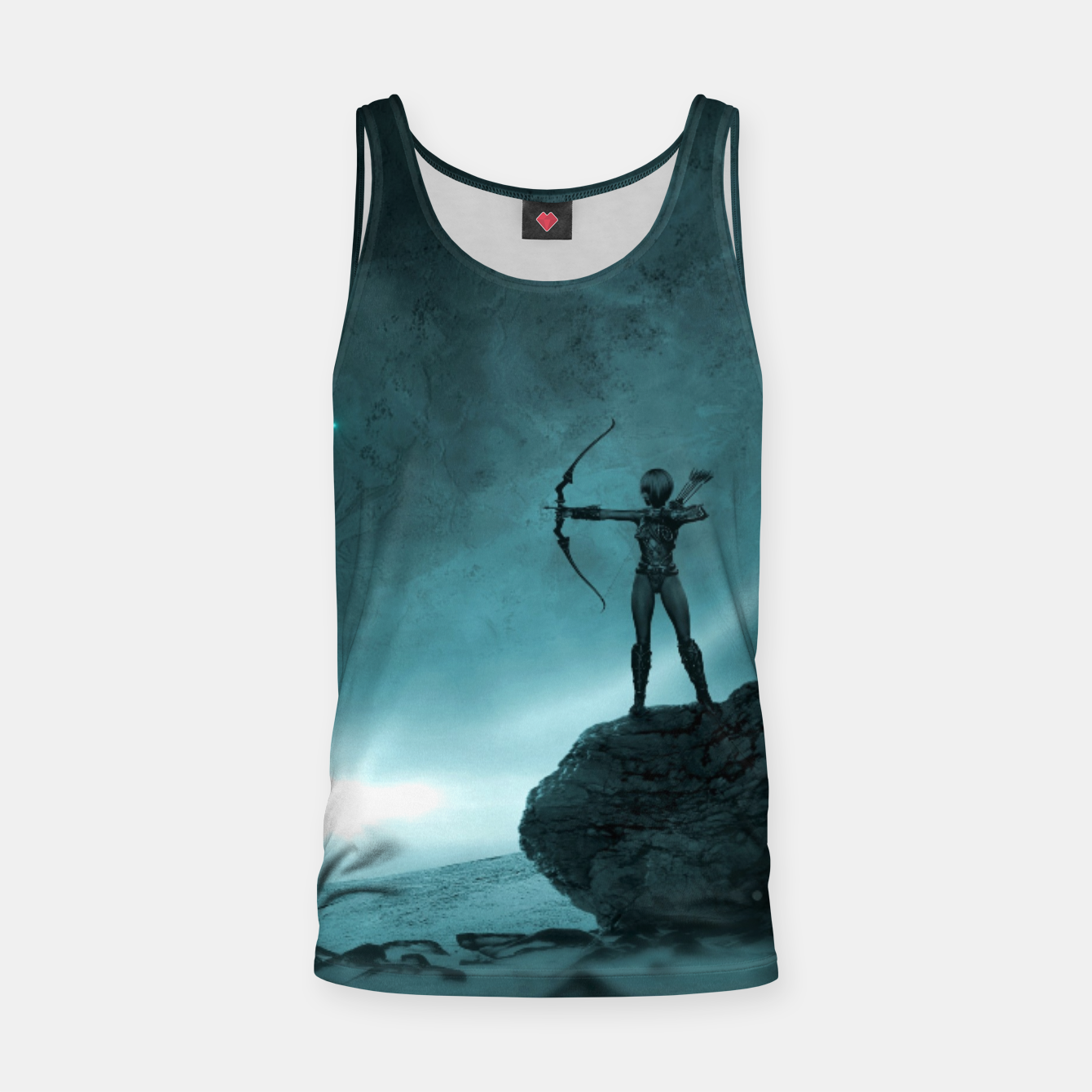 Image of The Archer - Fantasy Fairy Tales Tank Top - Live Heroes