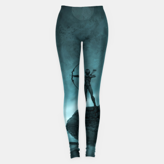 The Archer - Fantasy Fairy Tales Leggings thumbnail image