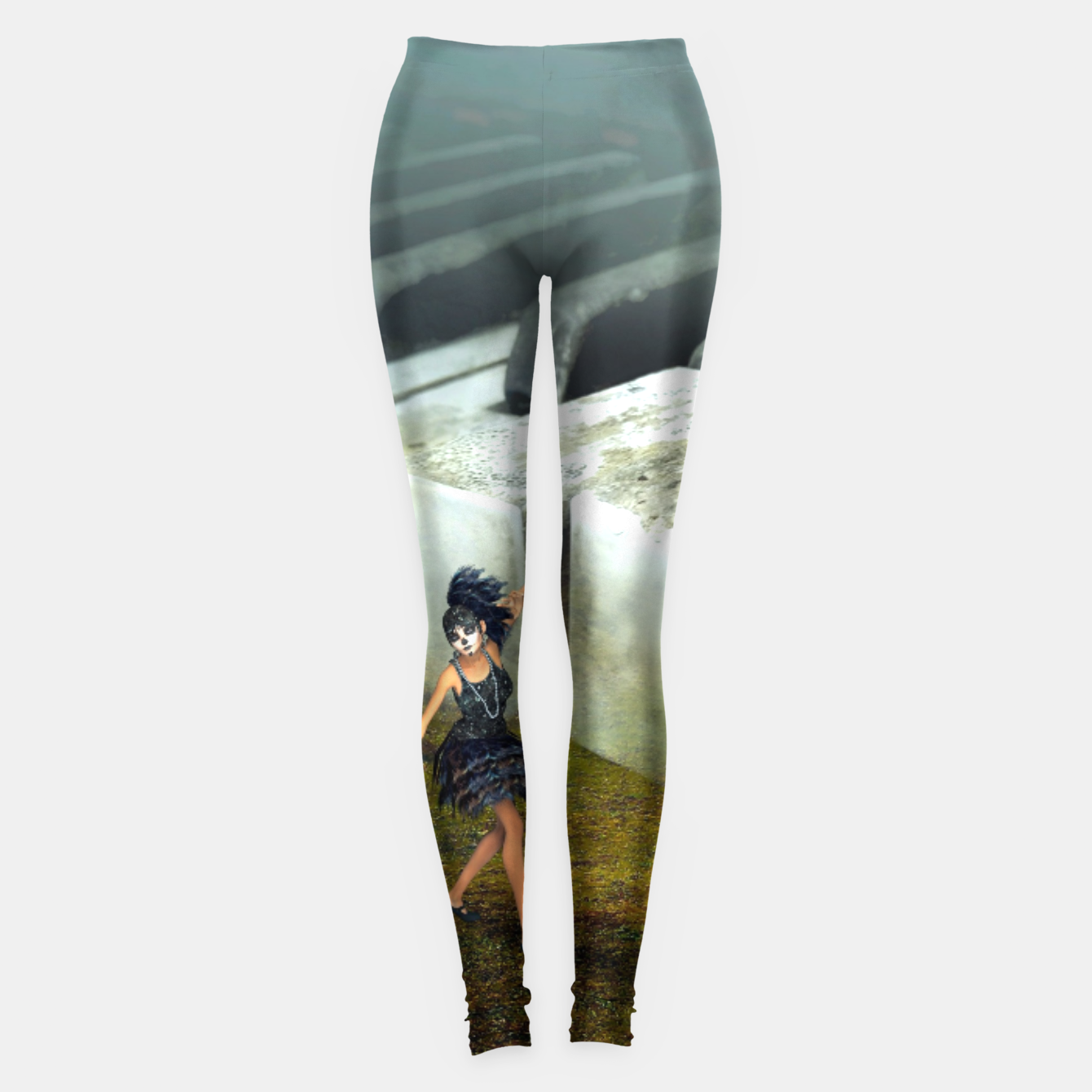 Image of The Piano - Fantasy Fairy Tales Leggings - Live Heroes