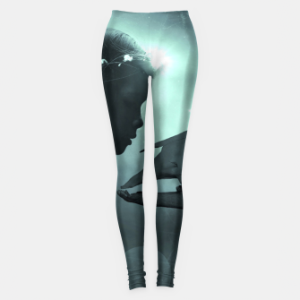 The Beauty and the Beast - Fantasy Fairy Tales Leggings thumbnail image