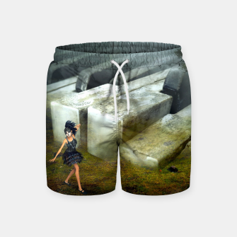 The Piano - Fantasy Fairy Tales Swim Shorts thumbnail image