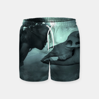 The Beauty and the Beast - Fantasy Fairy Tales Swim Shorts thumbnail image