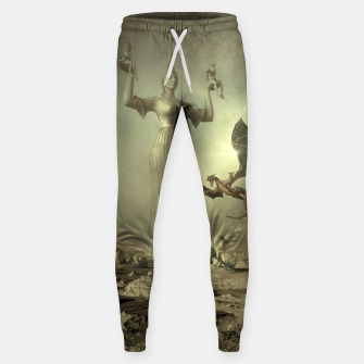 The Mother of Dragons - Fantasy Fairy Tales Cotton sweatpants thumbnail image