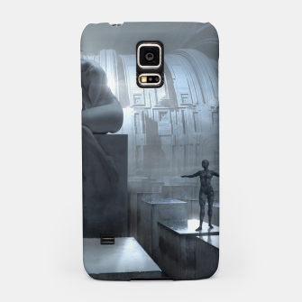 The Sad Statue - Fantasy Fairy Tales Samsung Case thumbnail image
