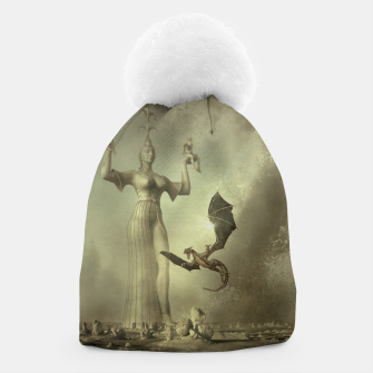 The Mother of Dragons - Fantasy Fairy Tales Beanie thumbnail image