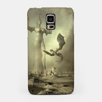 The Mother of Dragons - Fantasy Fairy Tales Samsung Case thumbnail image