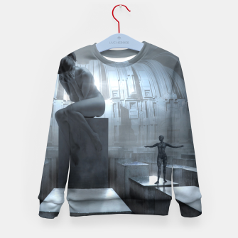 The Sad Statue - Fantasy Fairy Tales Kid's sweater thumbnail image