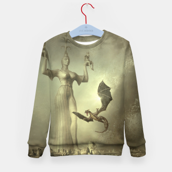 The Mother of Dragons - Fantasy Fairy Tales Kid's sweater thumbnail image