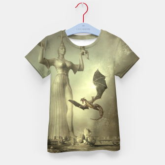 The Mother of Dragons - Fantasy Fairy Tales Kid's t-shirt thumbnail image