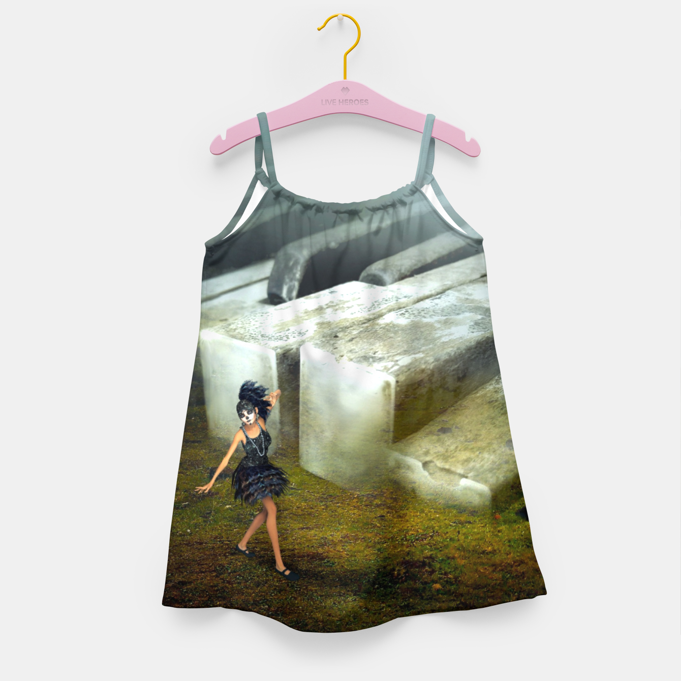 Image of The Piano - Fantasy Fairy Tales Girl's dress - Live Heroes