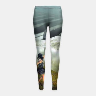 The Piano - Fantasy Fairy Tales Girl's leggings thumbnail image