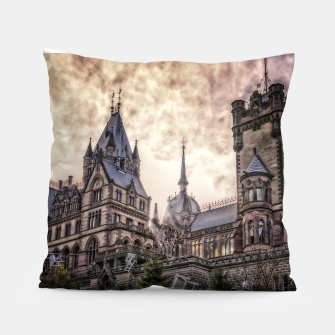 Magic Musical Chairs - Fantasy Fairy Tales Pillow thumbnail image