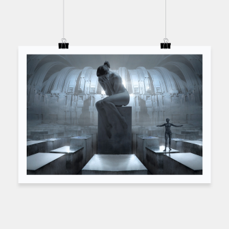 Thumbnail image of The Sad Statue - Fantasy Fairy Tales Poster, Live Heroes