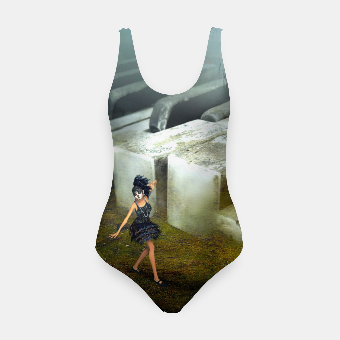 Image of The Piano - Fantasy Fairy Tales Swimsuit - Live Heroes