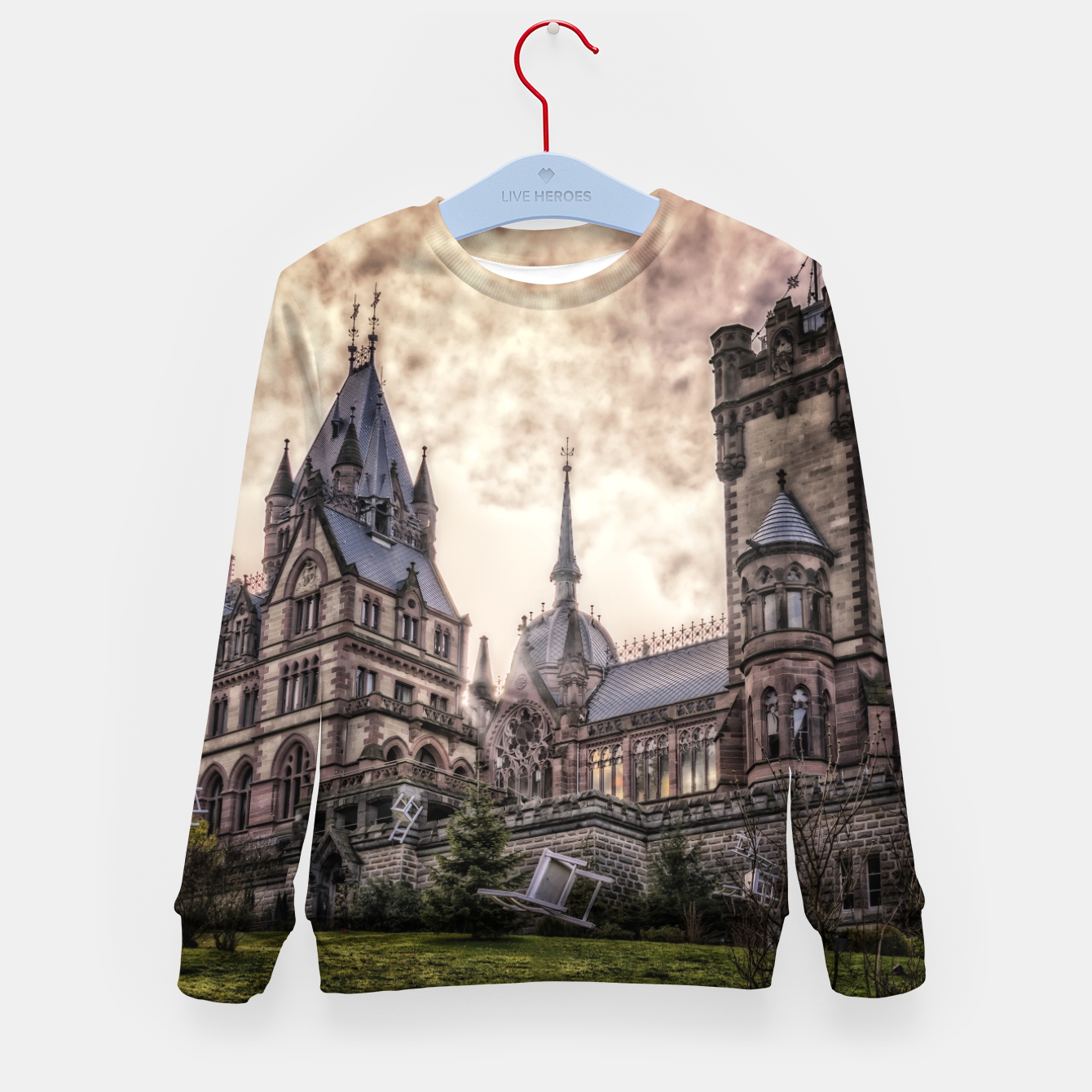Image of Magic Musical Chairs - Fantasy Fairy Tales Kid's sweater - Live Heroes