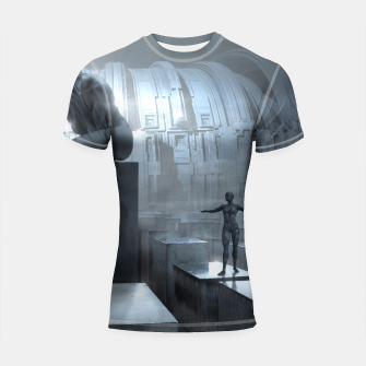 Thumbnail image of The Sad Statue - Fantasy Fairy Tales Shortsleeve rashguard, Live Heroes