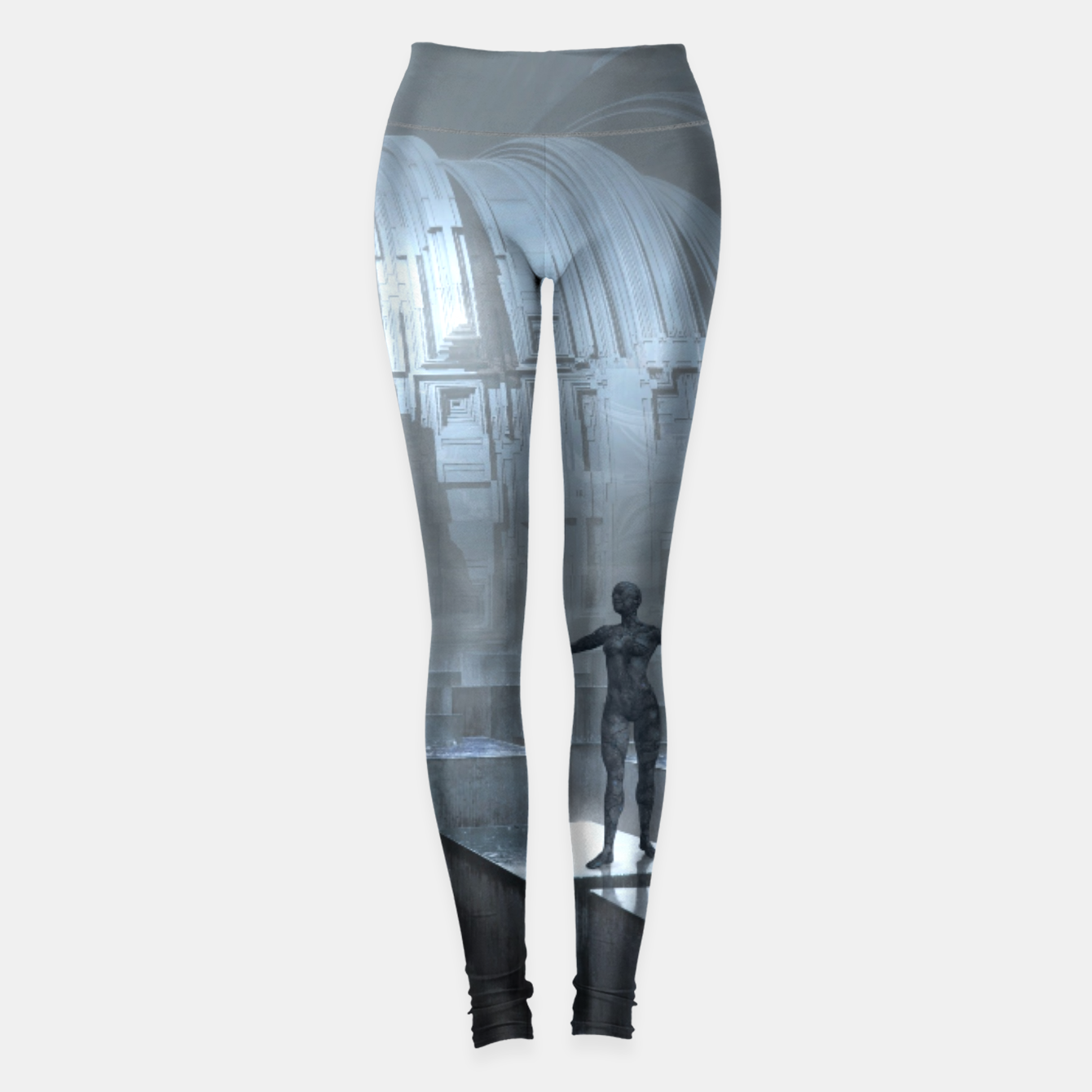 Image of The Sad Statue - Fantasy Fairy Tales Leggings - Live Heroes