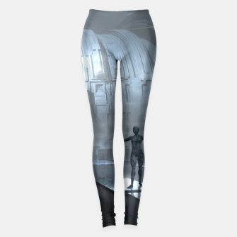 The Sad Statue - Fantasy Fairy Tales Leggings thumbnail image