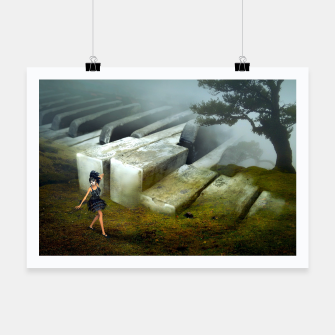 Thumbnail image of The Piano - Fantasy Fairy Tales Poster, Live Heroes