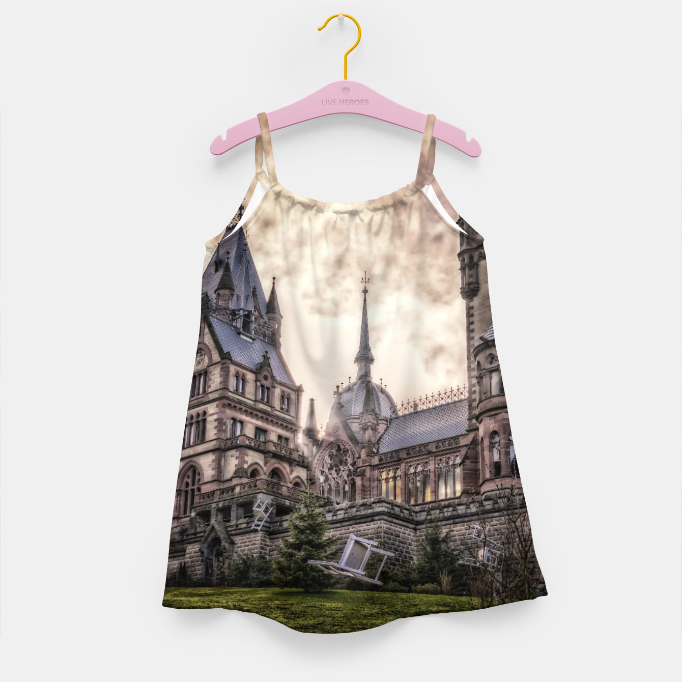 Image of Magic Musical Chairs - Fantasy Fairy Tales Girl's dress - Live Heroes