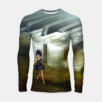 Thumbnail image of The Piano - Fantasy Fairy Tales Longsleeve rashguard , Live Heroes