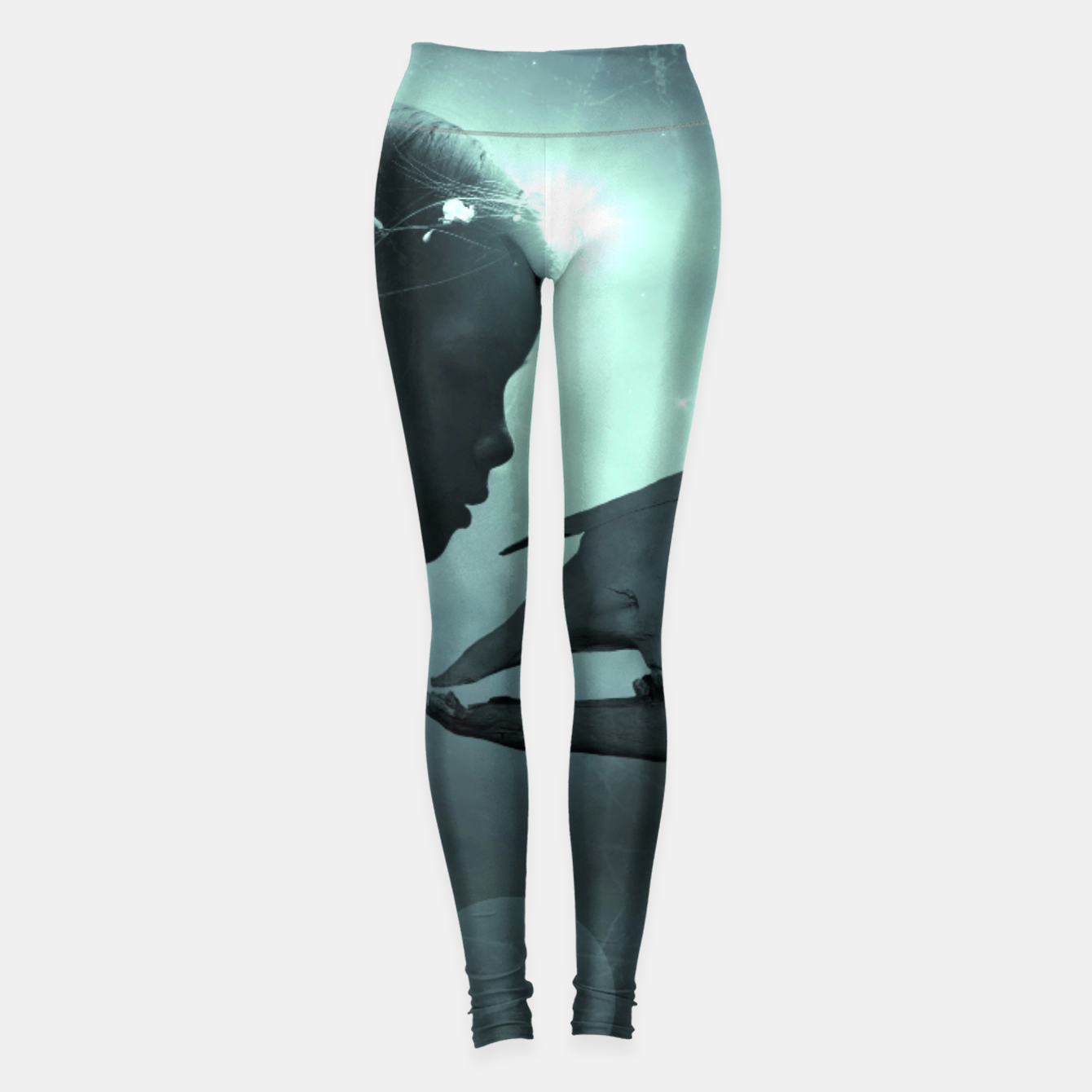 Image of The Beauty and the Beast - Fantasy Fairy Tales Leggings - Live Heroes