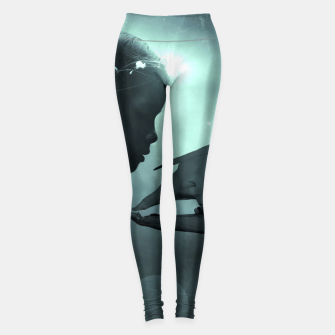 Thumbnail image of The Beauty and the Beast - Fantasy Fairy Tales Leggings, Live Heroes