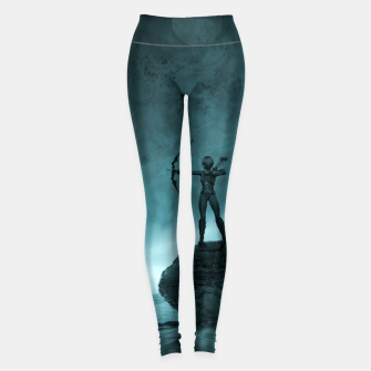 Thumbnail image of The Archer - Fantasy Fairy Tales Leggings, Live Heroes