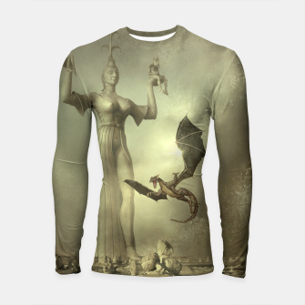 The Mother of Dragons - Fantasy Fairy Tales Longsleeve rashguard  thumbnail image