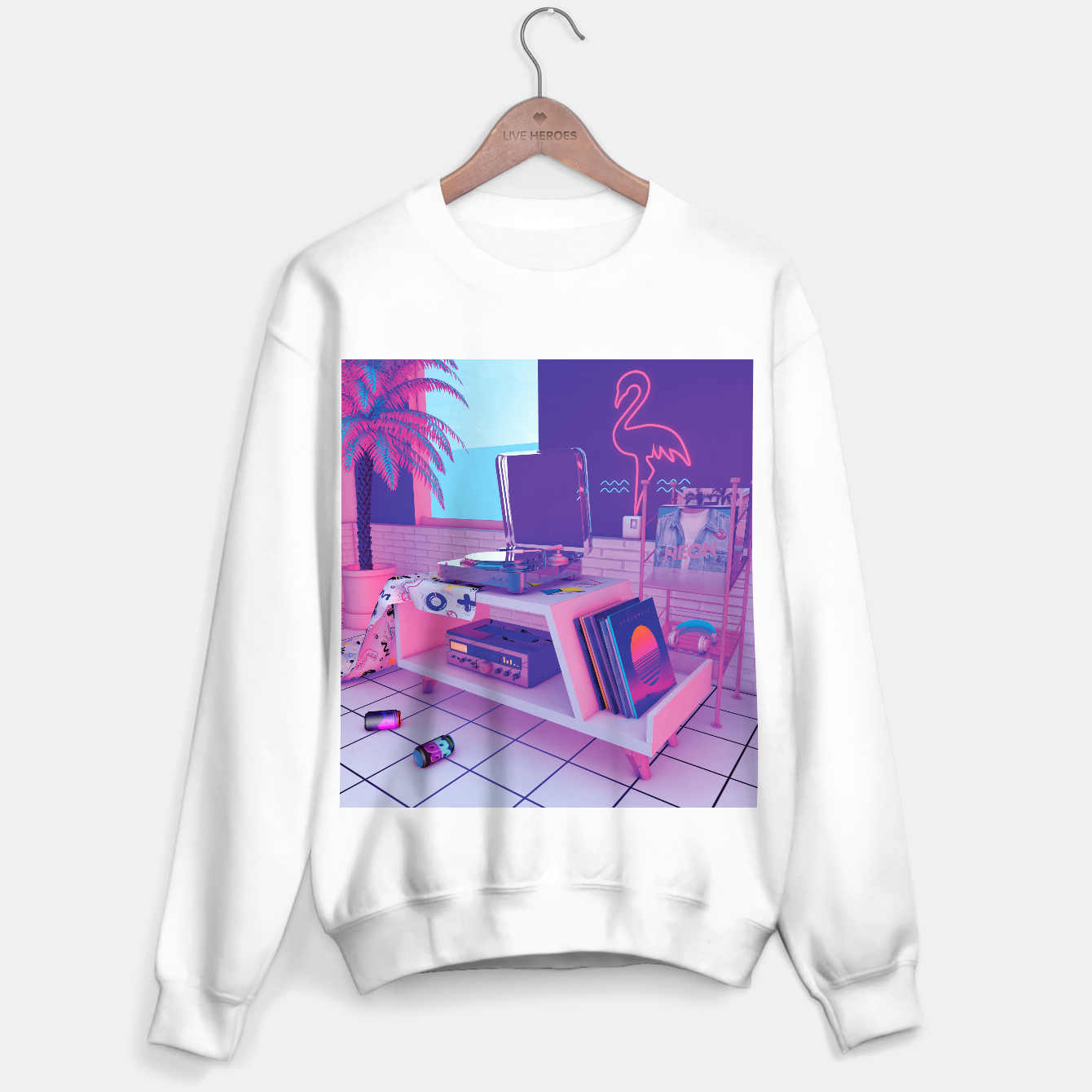 Image of spinningwave Sweater regular - Live Heroes