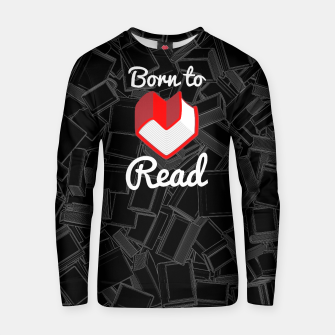 Born to Read Cotton sweater thumbnail image