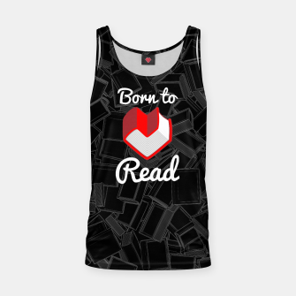 Born to Read Tank Top thumbnail image