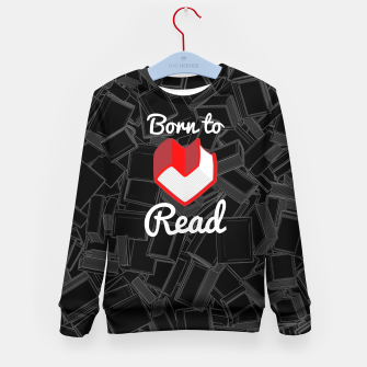 Born to Read Kid's sweater thumbnail image