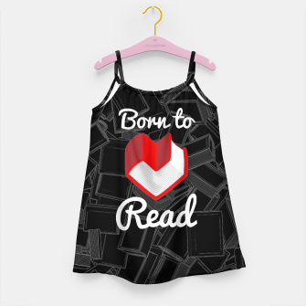 Born to Read Girl's dress thumbnail image