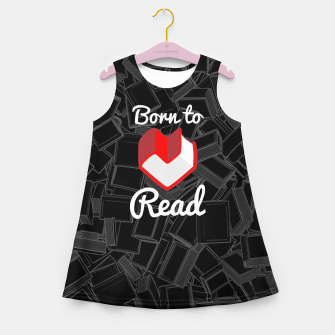 Born to Read Girl's summer dress thumbnail image