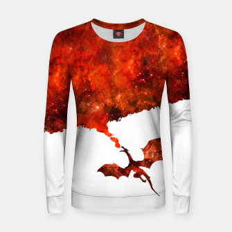 Miniatur Let's Burn it Woman cotton sweater, Live Heroes