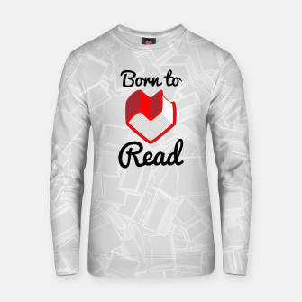 Thumbnail image of Born to Read II Cotton sweater, Live Heroes
