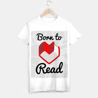 Thumbnail image of Born to Read II T-shirt regular, Live Heroes