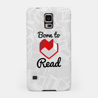 Thumbnail image of Born to Read II Samsung Case, Live Heroes